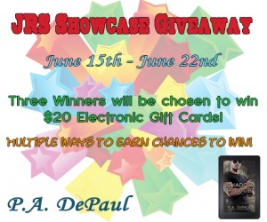 JRS Showcase Giveaway and Excerpt for SHADOW OF DOUBT